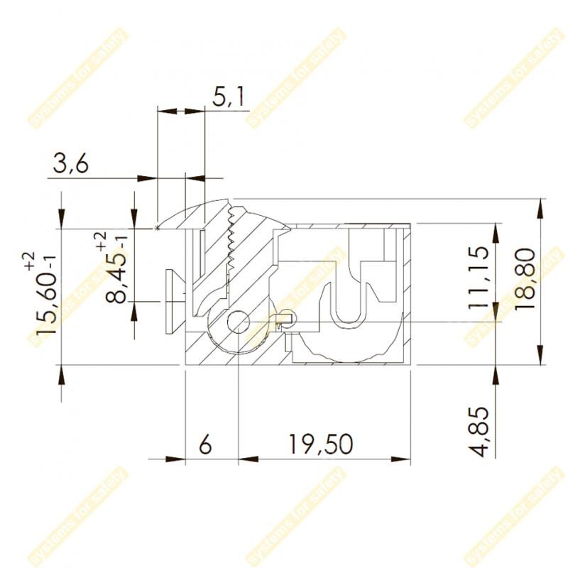 Зачіпка електромеханічна 99-2NF512