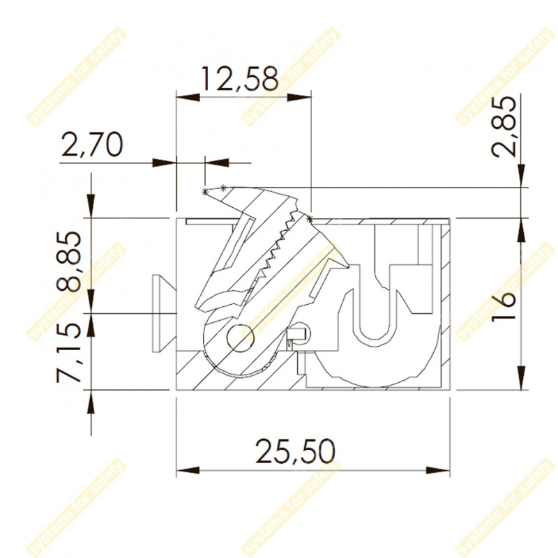 Электромеханическая защелка 99-2NDF10-24