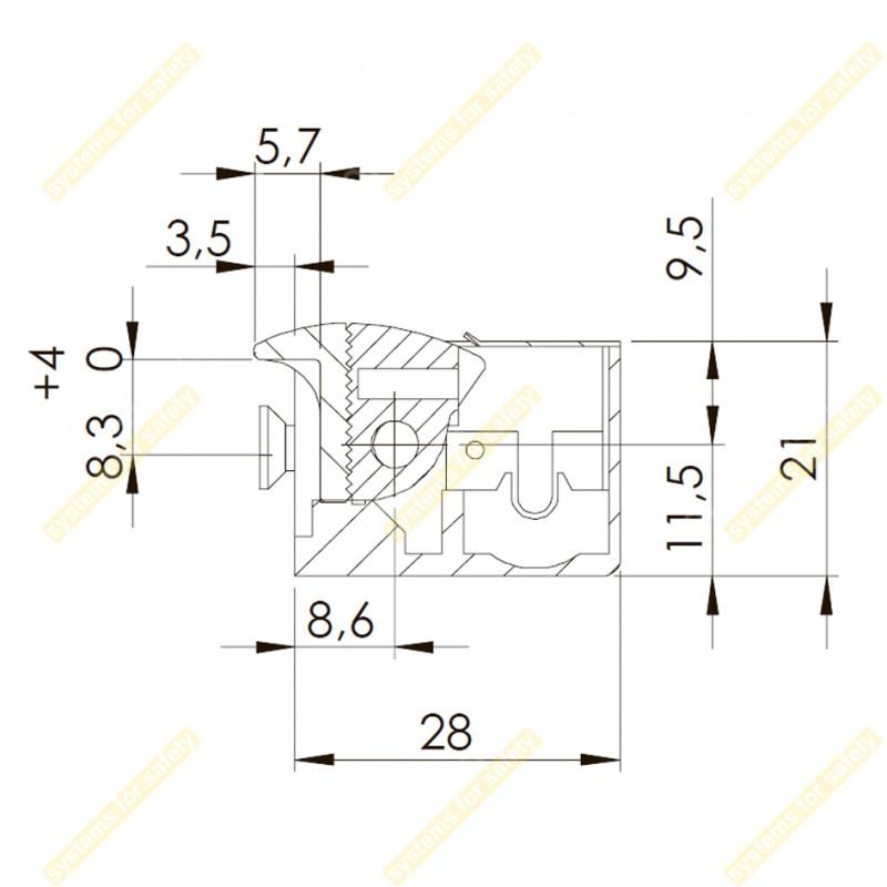 Электромеханическая защелка 45NF512