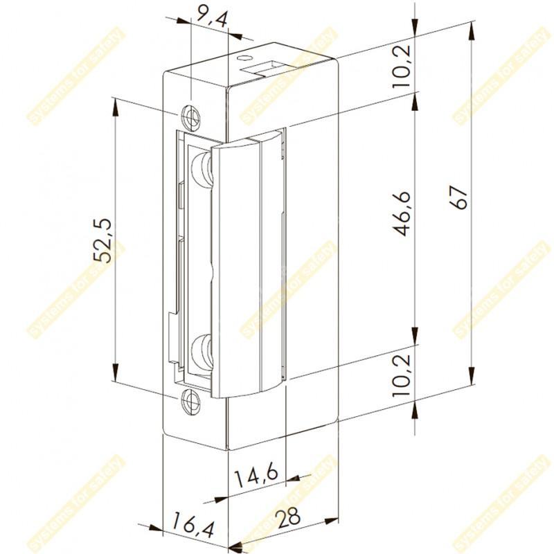 Электромеханическая защелка 41NF512