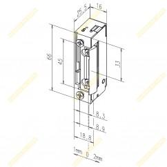 Кнопка виходу EXIT-805L