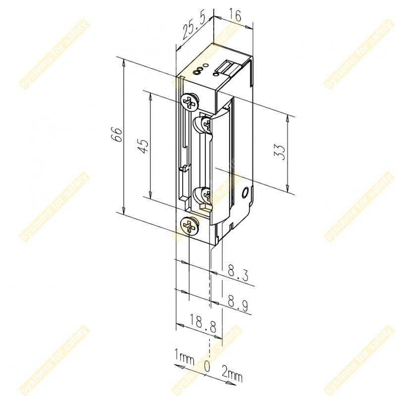 Зачіпка електромеханічна 118E