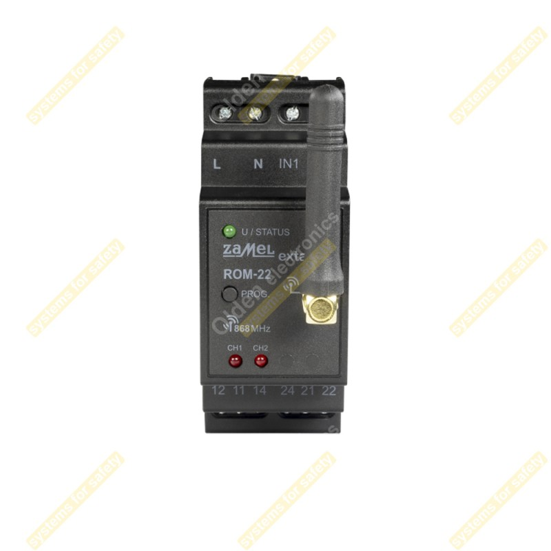 Приймач 2-канальний модульний ROM-22