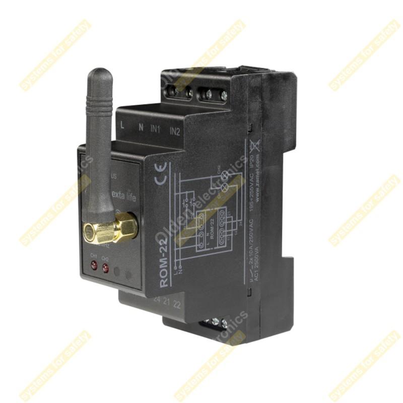 Приемник 2-канальный модульный ROM-22
