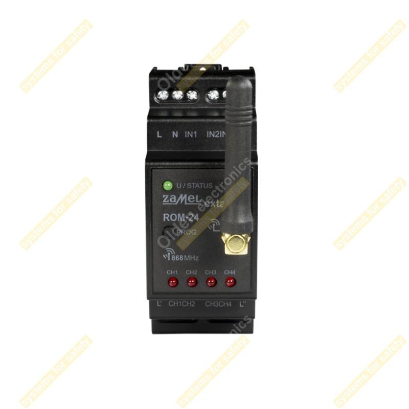 Приемник 2-канальный модульный ROM-24