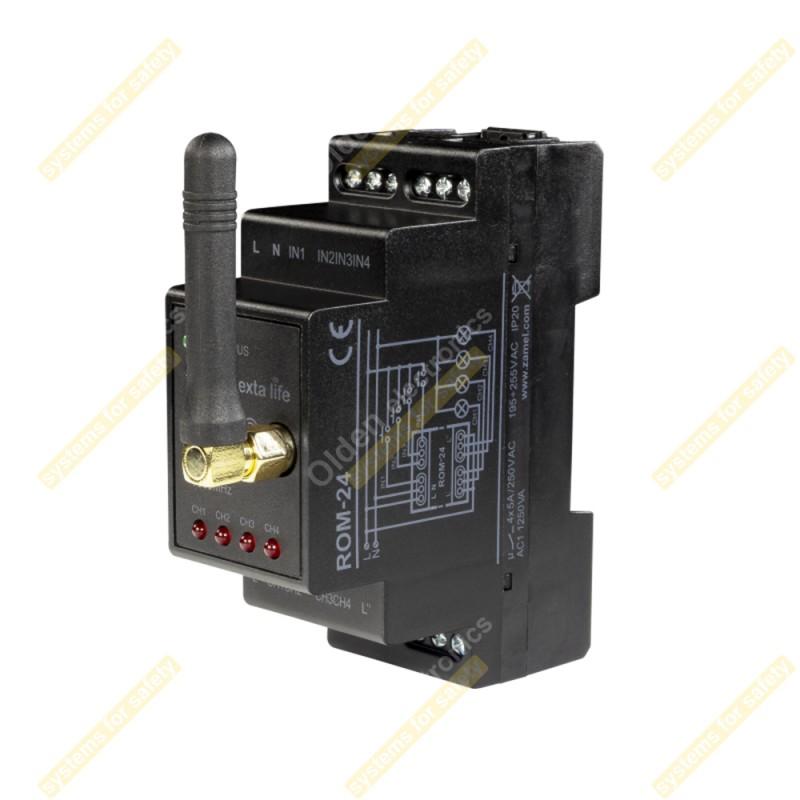 Приймач 2-канальний модульний ROM-24