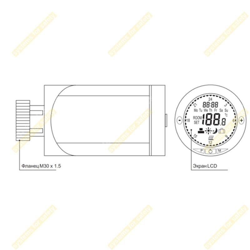 Терморегулятор RGT-01