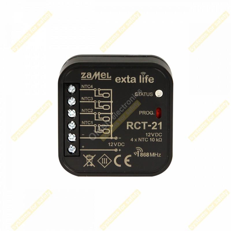 Давач температури 4-канальний RCT-21